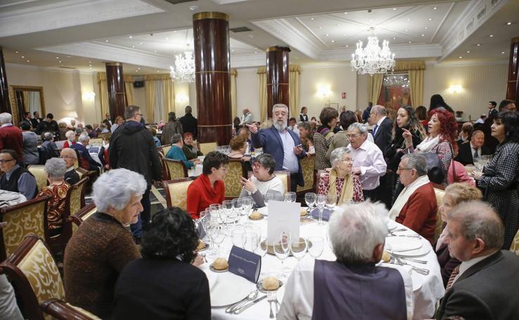 Fiesta de la ONCE en Salamanca en honor a Santa Lucía