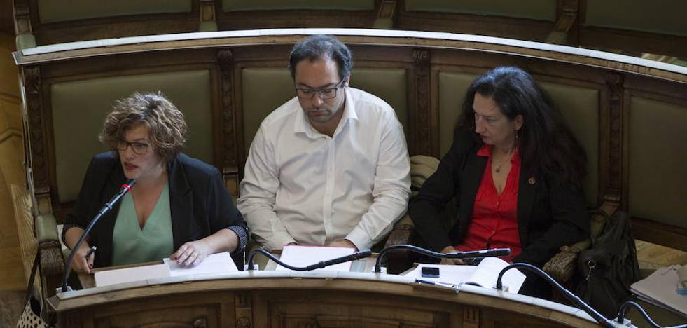 Suspendidos de militancia por un año los tres ediles de Sí Se Puede en el Ayuntamiento de Valladolid