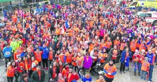 Miles de pasos solidarios en Mozoncillo