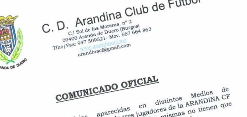 La Arandina expulsará a los jugadores detenidos si se confirma la acusación