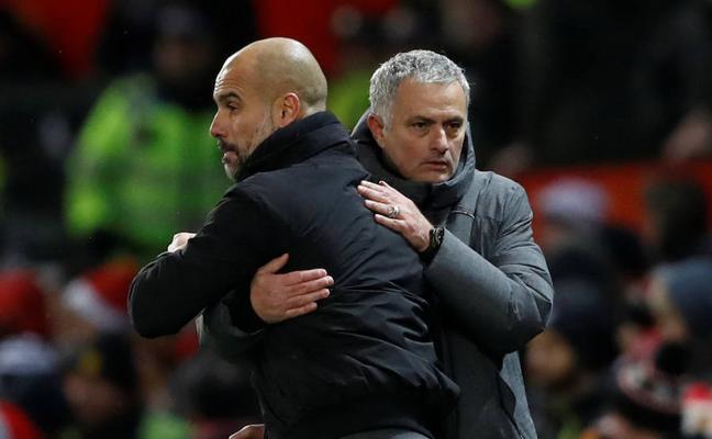 Guardiola defiende a sus jugadores y Mourinho habla de «comportamiento y educación»