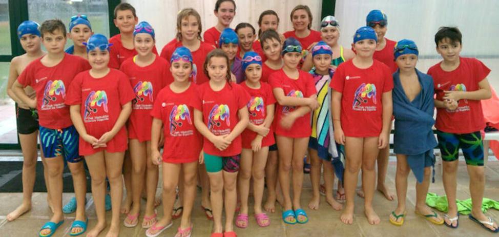 Baño de éxitos para el Club Natación IMD Ciudad de Segovia