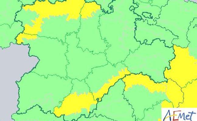 Protección Civil alerta de mínimas de hasta -6 grados en Ávila y Segovia