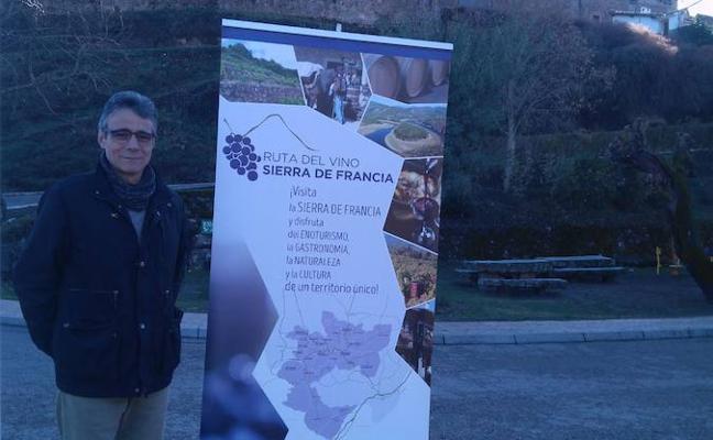 Todos los municipios de la Ruta del Vino Sierra de Francia contarán con señalización a la entrada del pueblo
