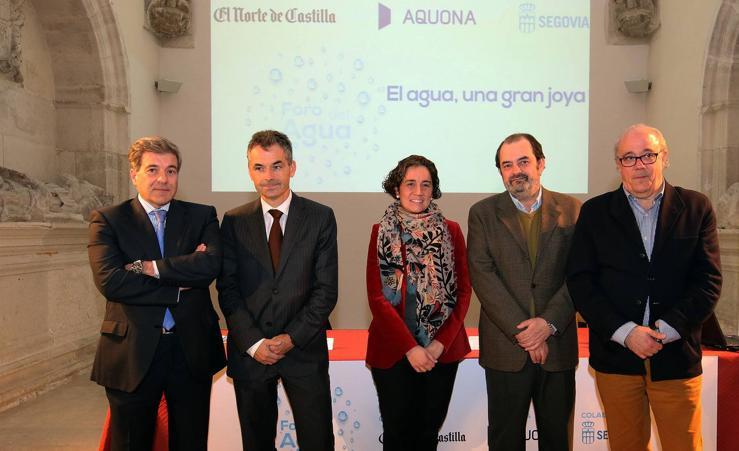La doctora Cristina Abreu participa en el Foro del Agua de El Norte de Castilla en Segovia