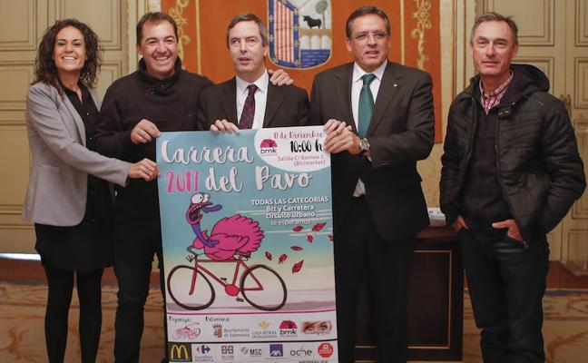 La carrera ciclista del Pavo quiere ser una fiesta familiar este domingo en Salamanca