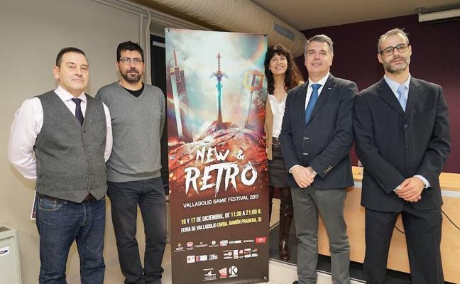 El New Retro Valladolid Game Festival se celebra en la Feria de Valladolid este fin de semana