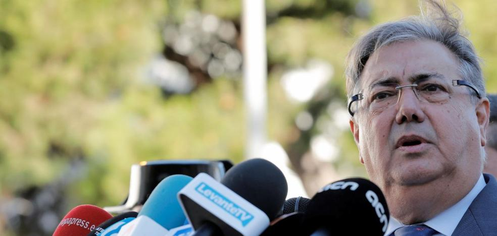 """Zoido recomienda que """"la mujer no calle"""" en casos como el presunto abuso sexual de jugadores del Arandina"""
