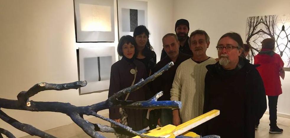 Cinco artistas, tras la geometría de la naturaleza