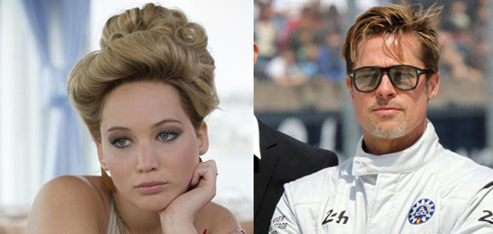 Desmienten que Brad Pitt salga con Jennifer Lawrence
