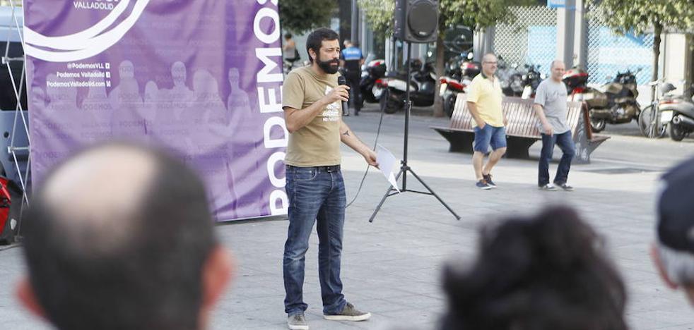 La exdirección de Podemos Valladolid cree que la no dimisión de los tres ediles de Si se Puede perjudica al partido