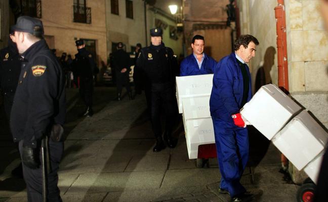 La Junta pedirá al Ministerio la restitución de 'papeles de Salamanca'