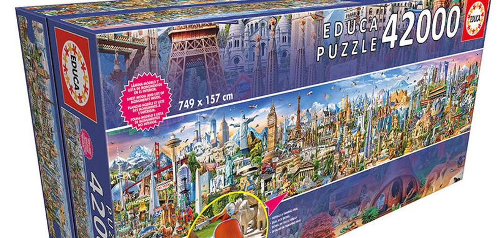 El puzzle más grande del mundo, de 42.000 piezas, acaba de salir a la venta