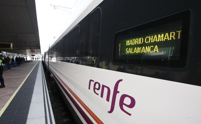 Fomento habilita bonos de ahorro para el trayecto Avant Madrid-Salamanca