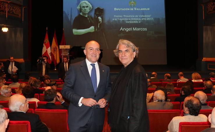 Ángel Marcos recibe el Premio Provincia de Valladolid a la Trayectoria Artística