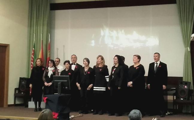 El coro del Servicio Territorial de Agricultura de Zamora canta por Navidad