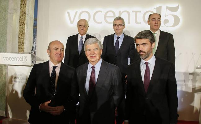Vocento premia el liderazgo empresarial de los presidentes de Inditex, BBVA e Iberdrola