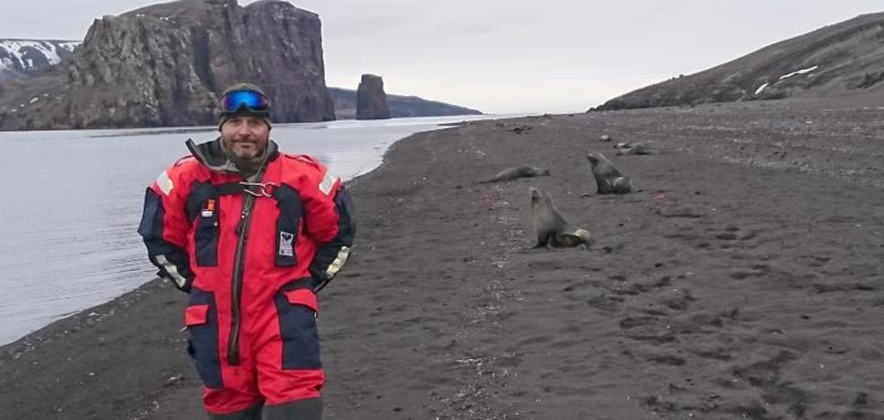 «Vivir en la Antártida es como estar dentro del National Geographic»