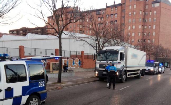 La Policía Local abre diligencias a un camionero por consumo de cocaína mientras conducía