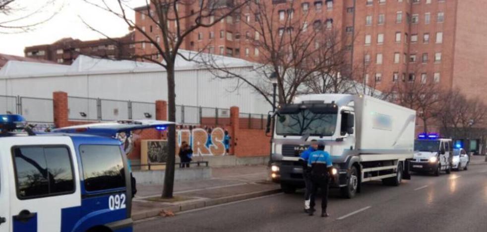 La Policía Local abre diligencias a un camionero por consumo de cocaína