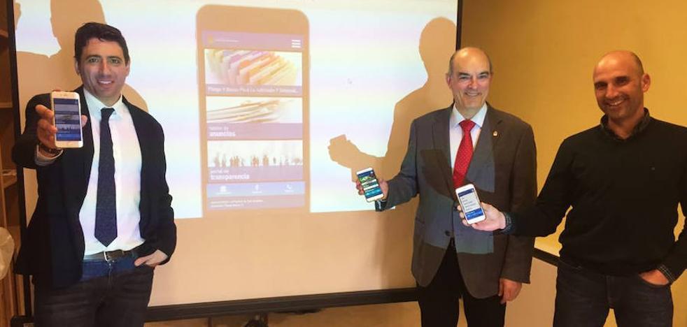 El Consistorio estrena una nueva aplicación móvil como canal informativo