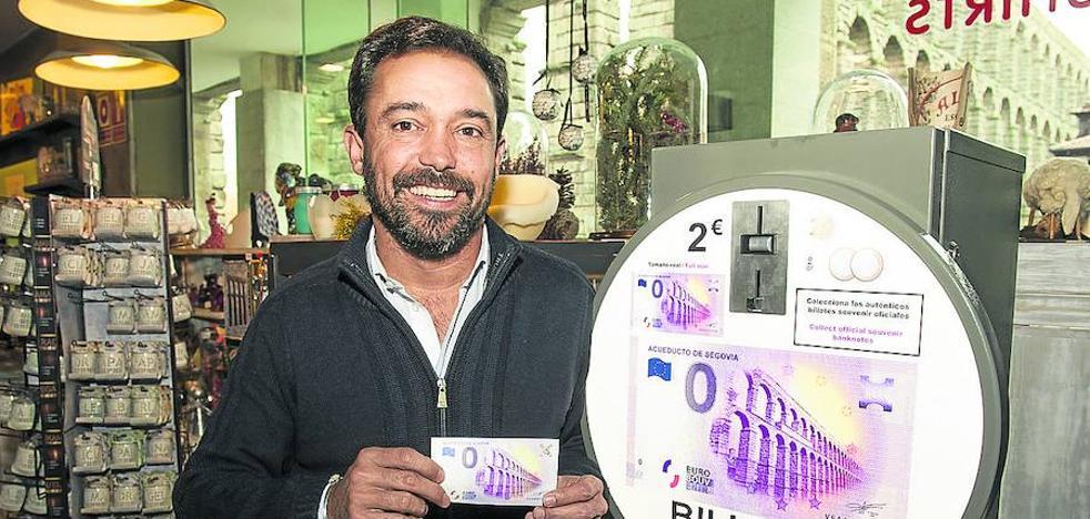 Un billete de cero euros