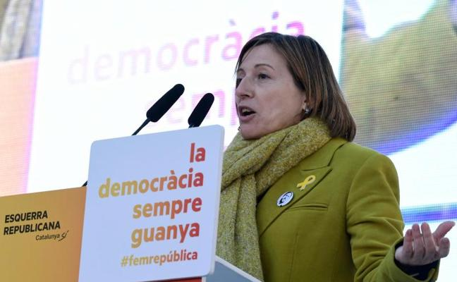 Forcadell amenaza al Estado: «No frenará la república»