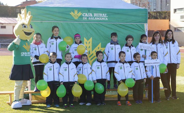 Presentación del Caja Rural Atlético Salamanca de atletismo