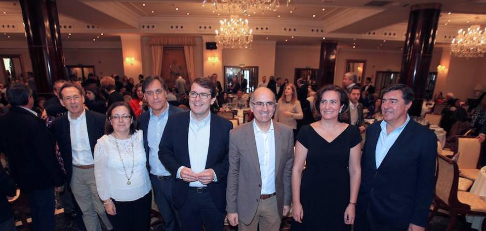 El PP salmantino arropa a Mañueco para «llevarlo a la presidencia de la Junta»