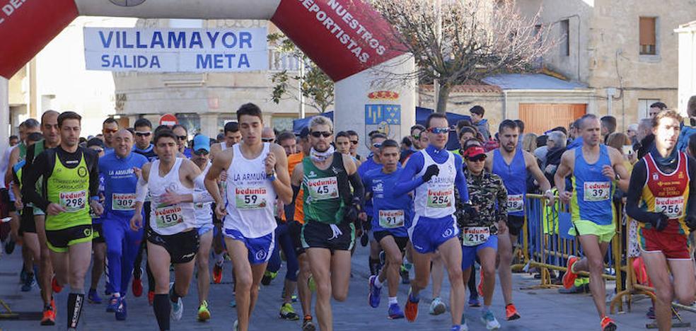 Villamayor abre las carreras navideñas en Salamanca