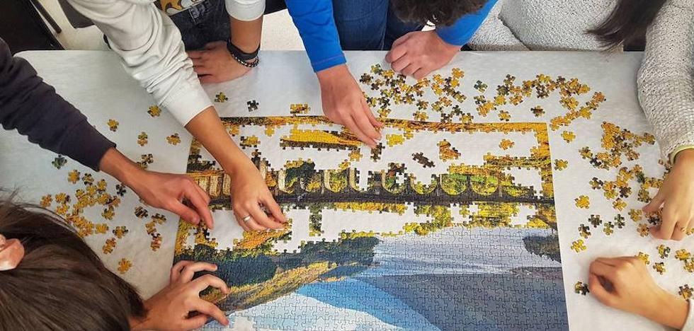 Pedrosillo de Alba se alza con el segundo concurso provincial de puzzles