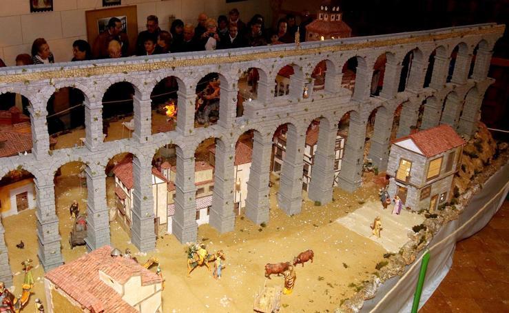 La ermita de El Cristo del Mercado presenta su belén