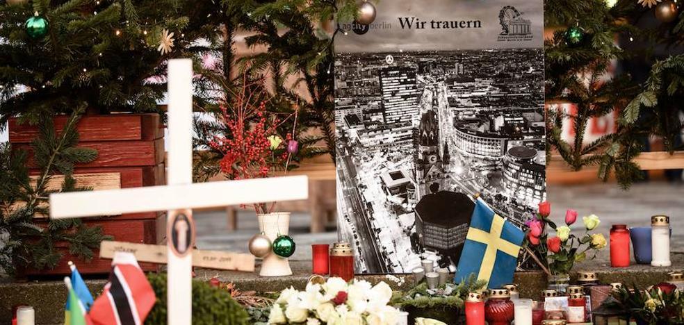 Alemania recuerda a los doce muertos del atentado del mercadillo navideño