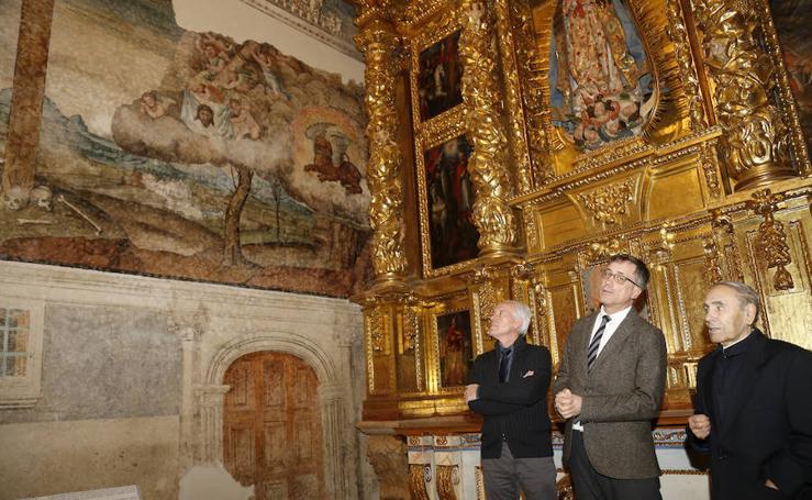 La capilla de la Inmaculada de la catedral luce ya restaurada