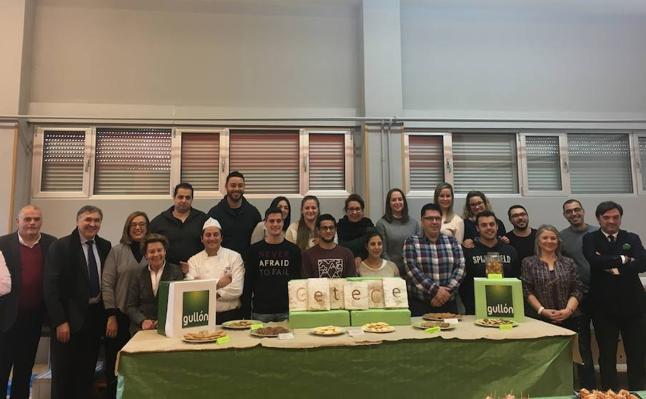 15 desempleados se forman en pastelería en Aguilar con Gullón