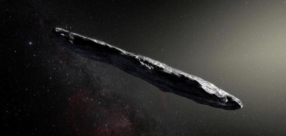 Descartan que el asteroide interestelar 'Oumuamua' sea obra de extraterrestres