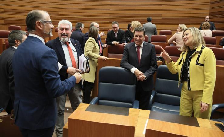 Pleno en las Cortes de Castilla y Léon