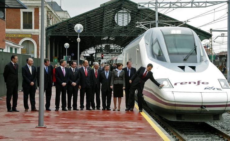 Así fue la llegada del Ave a Valladolid