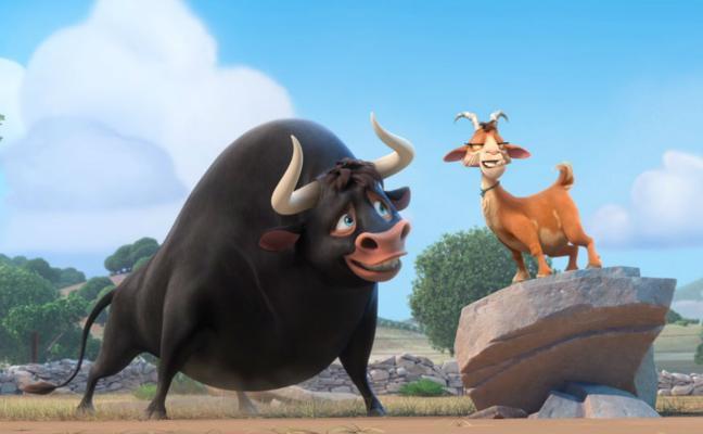 'Ferdinand', aventuras de un toro manso con buen corazón
