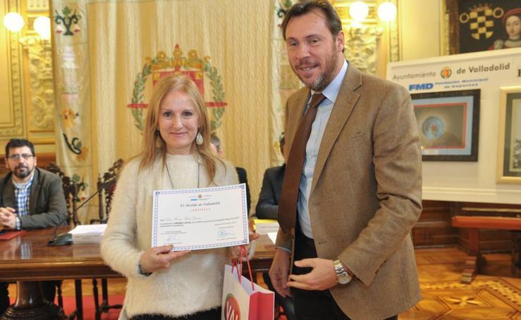 Entrega de los premios del III Concurso de Relatos y Fotografía Deportiva de Valladolid