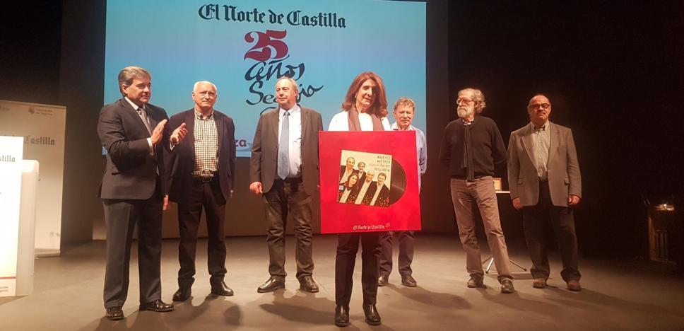 El Nuevo Mester de Juglaría, Premio El Norte en el 25 aniversario de la delegación de Segovia