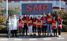 Alunmos del IES Blanca de Castilla visitan SMP