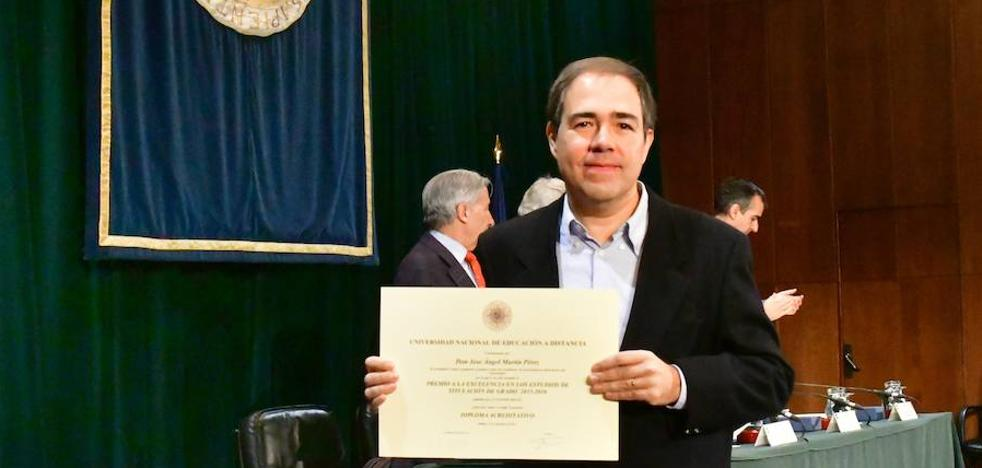 Un estudiante de la UNED de Palencia, premio nacional por su expediente