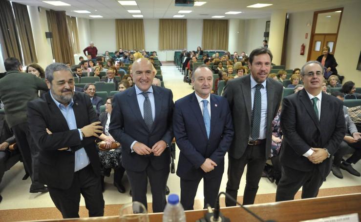 Acto conmemorativo del 130 aniversario de la Facultad de Comercio de Valladolid
