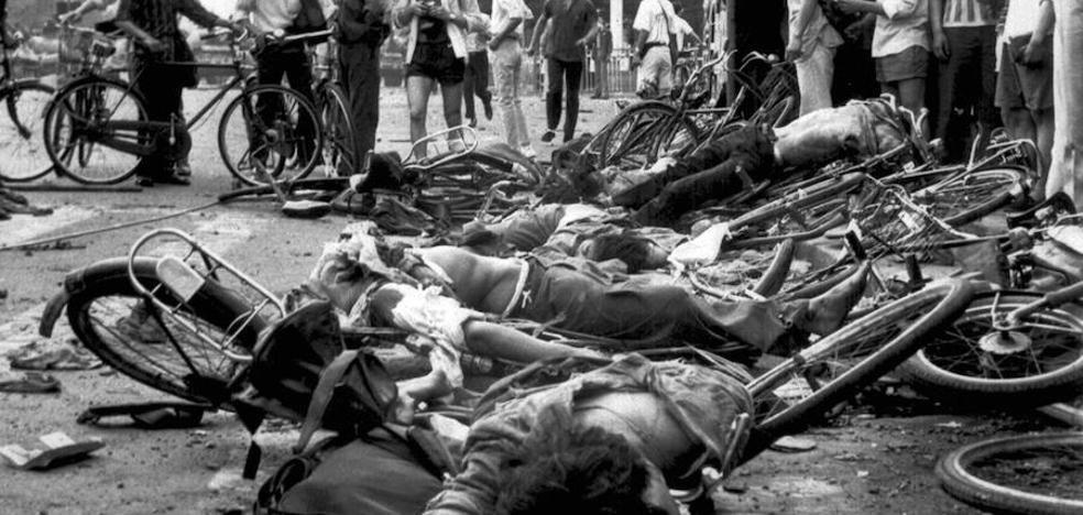 Un telegrama secreto desvela que la masacre de Tiananmen dejó al menos 10.000 muertos