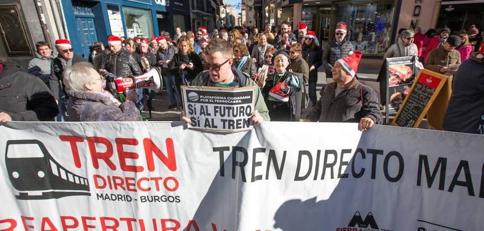 La Plataforma por el Tren Directo pide a Herrera mayor implicación en su defensa