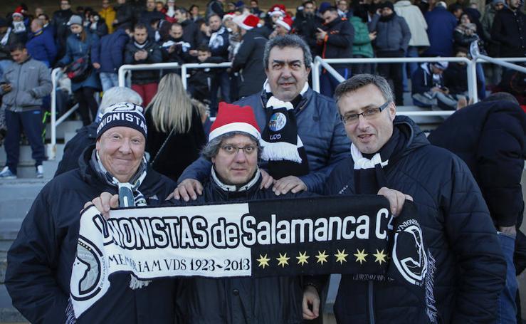 Unionistas de Salamanca remonta al Ávila y es por primera vez campeón invernal en Tercera División