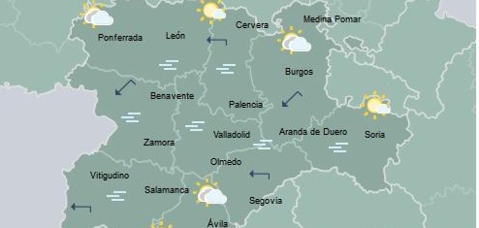 Cinco provincias de Castilla y León registran las temperaturas más bajas del país