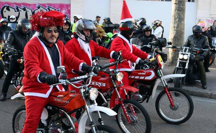 Cerca de 1.000 moteros han participado en la campaña solidaria del Real Moto Club Burgalés