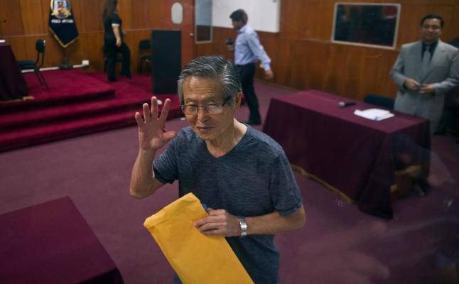 El presidente peruano concede el indulto humanitario a Fujimori